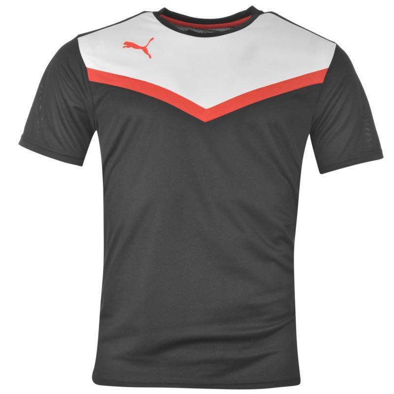 Tričko Puma BTS Polyester T Shirt Juniors Black/White
