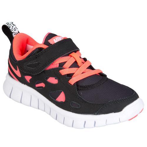 Nike Children Girls Free Run 2 Trainers Black