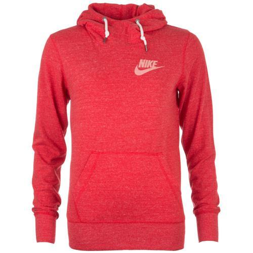 Nike Womens Gym Vintage Hoody Red