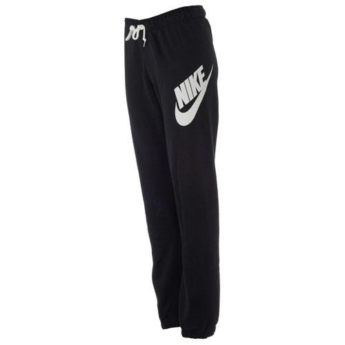 Fitness Nike Womens Logo Rally Pants Black