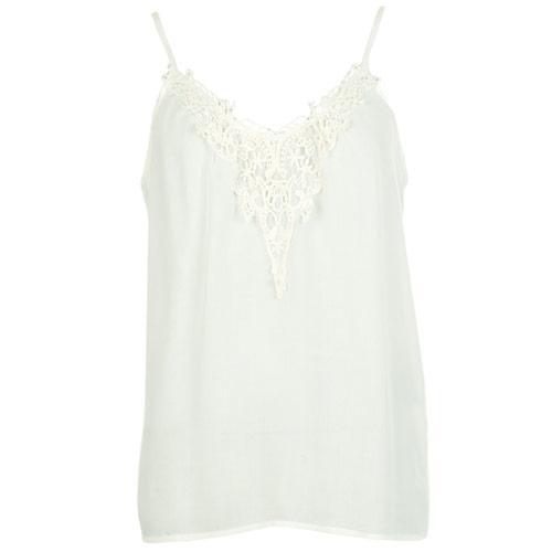 Vero Moda Womens Vanni Vic Vest Cream