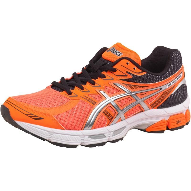 Asics Mens Gel Phoenix 6 Stability Running Shoes Flash Orange/Silver