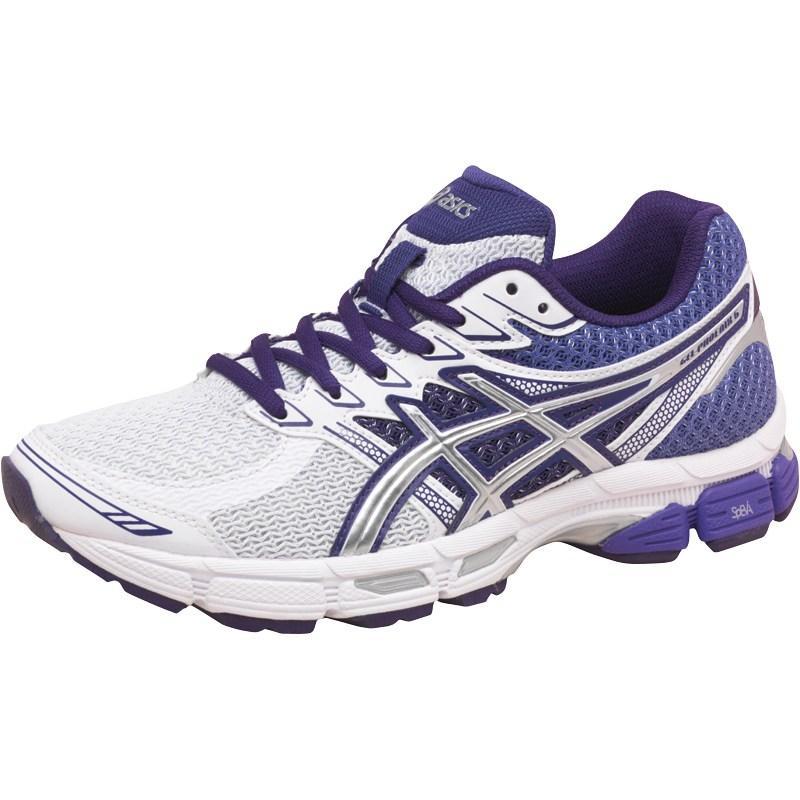Asics Womens Gel Phoenix 6 Stability Running Shoes White/Lightning