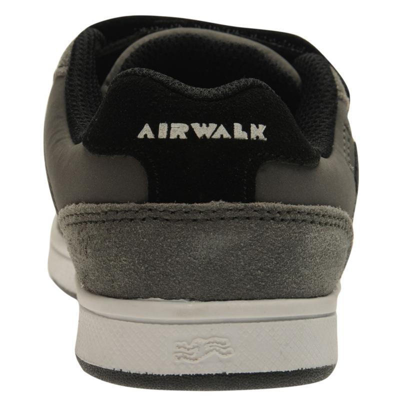 Airwalk Brock Childrens Skate Shoes Black, Velikost: UK1 (euro 33)