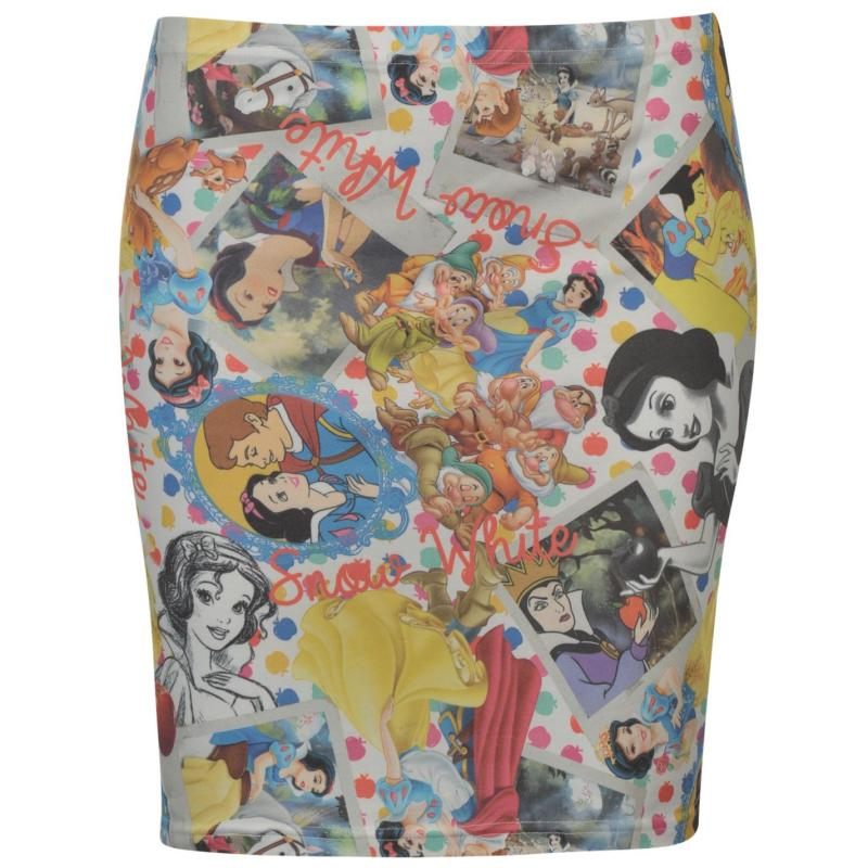 Sukně Character Tube Skirt Ladies Snow White