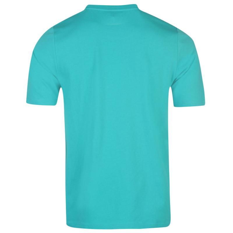 Tričko Lonsdale 2 Stripe T Shirt Mens Navy/White