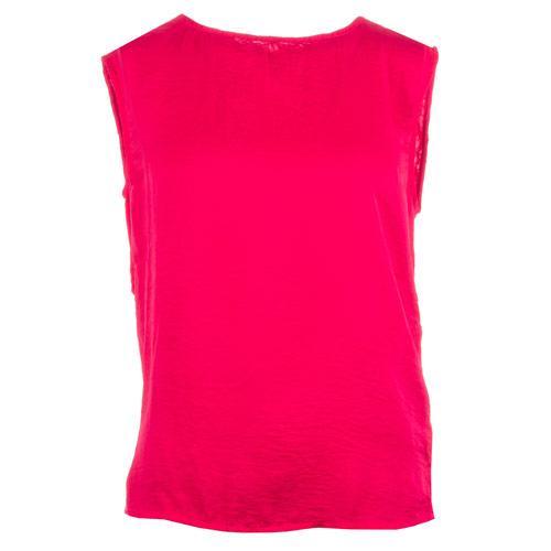 Vero Moda Womens Bubble Sleeveless Top Pink