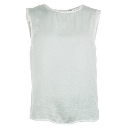 Vero Moda Womens Bubble Sleeveless Top White