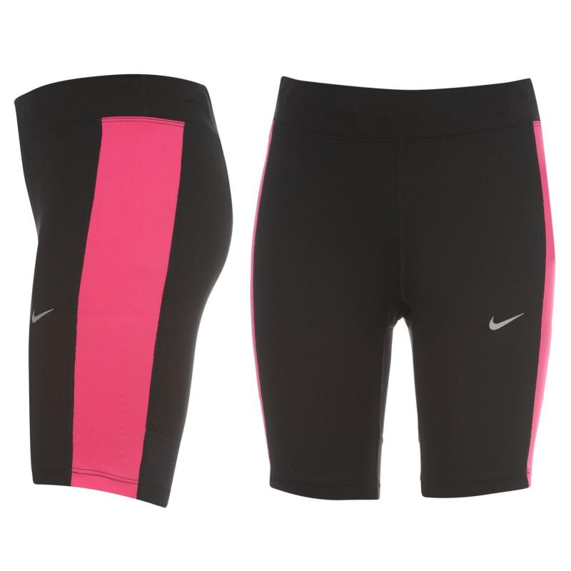 Šortky Nike Dri Fit Half Shorts Ladies Black/Pink