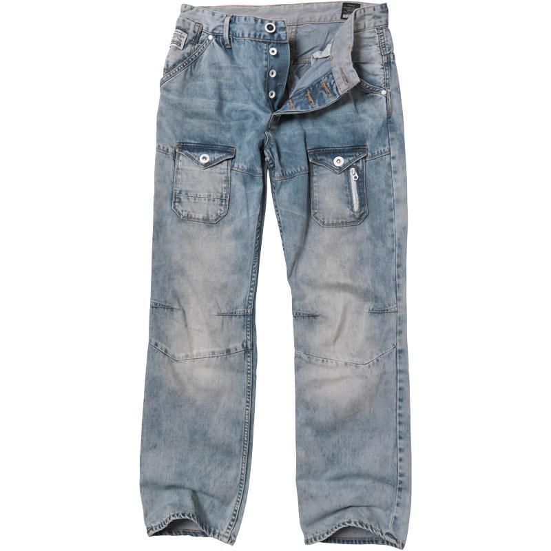 Voi Jeans Mens Edward Cart 039 Jeans Blue Denim