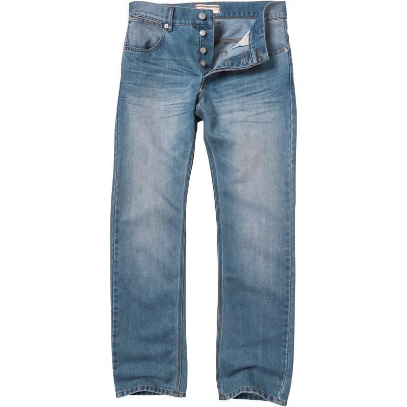 French Connection Mens New Reg Denim Jeans Blue Lightwash