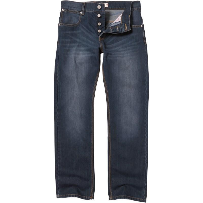 French Connection Mens New Reg Denim Jeans Blue Midwash