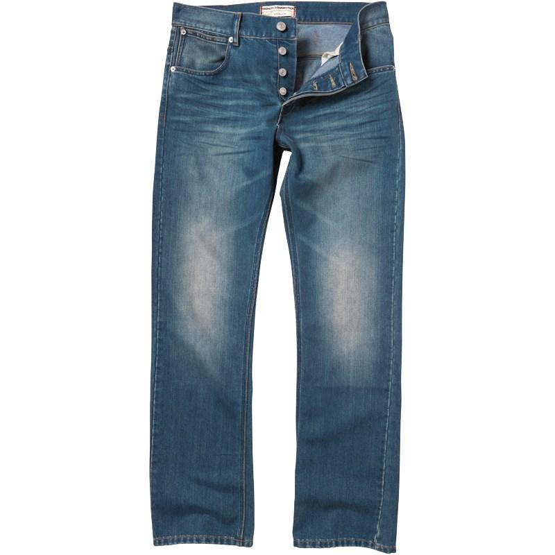 French Connection Mens New Reg Denim Jeans Blue Stonewash