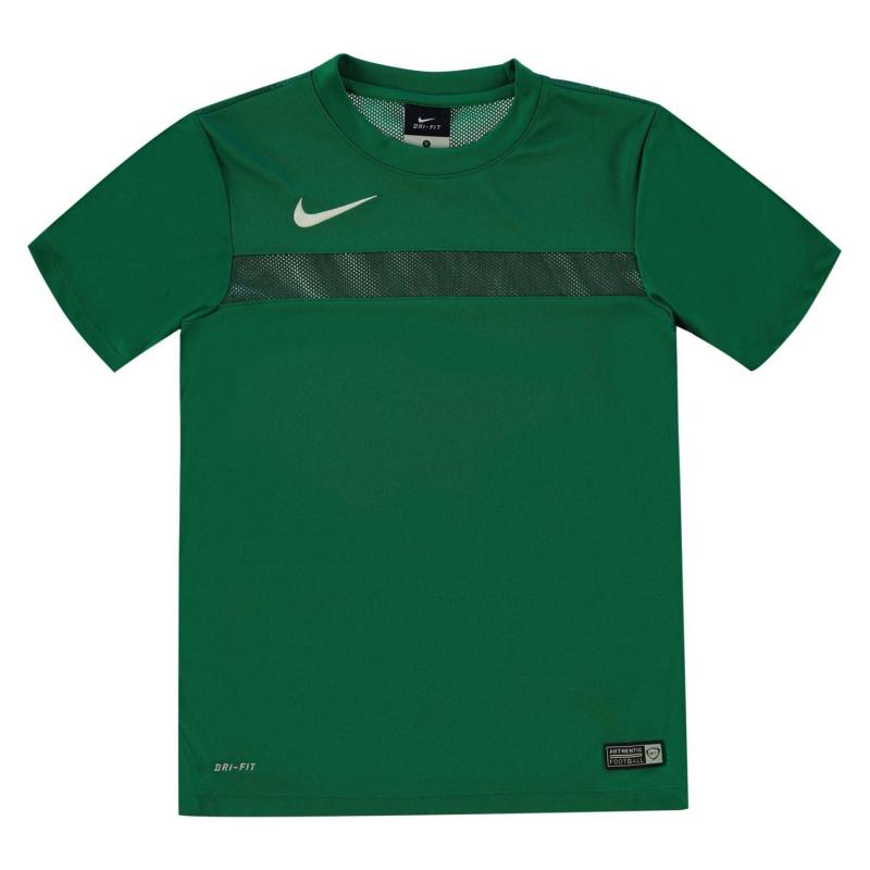 Tričko Nike Academy Top Junior Black/White
