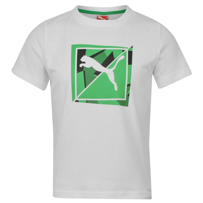 Tričko Puma QTT TD T Shirt Juniors Blue
