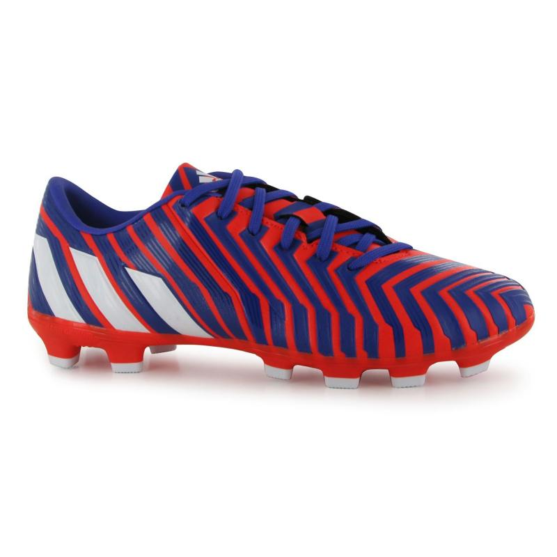 adidas Predator Absolado FG Mens Football Boots Solar Red/White