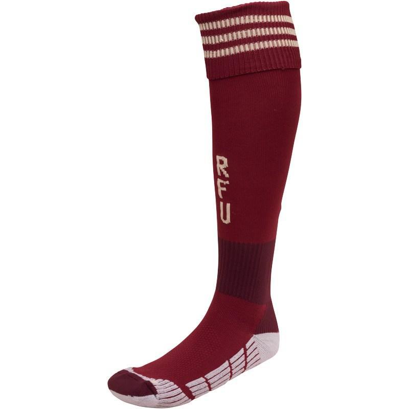 Ponožky adidas RFU Russia Home Socks Cardinal/Gold