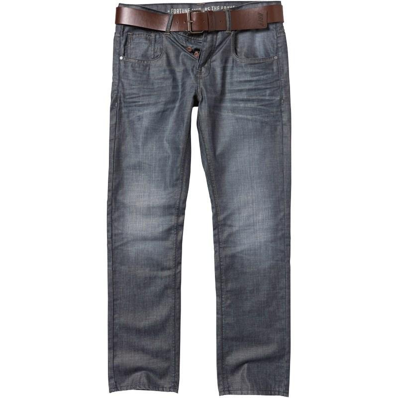 Onfire Mens Straight Fit Jeans Darkwash