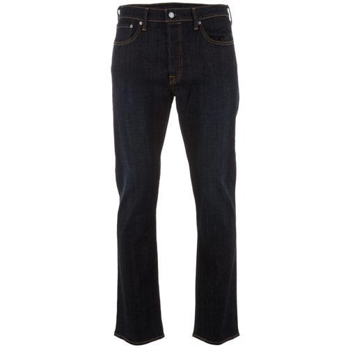 Levi's Mens 501 Blue Rinse Jeans Blue