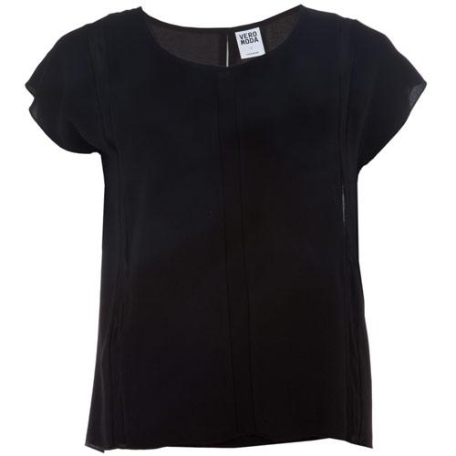 Košile Vero Moda Womens Vmivy Top Black