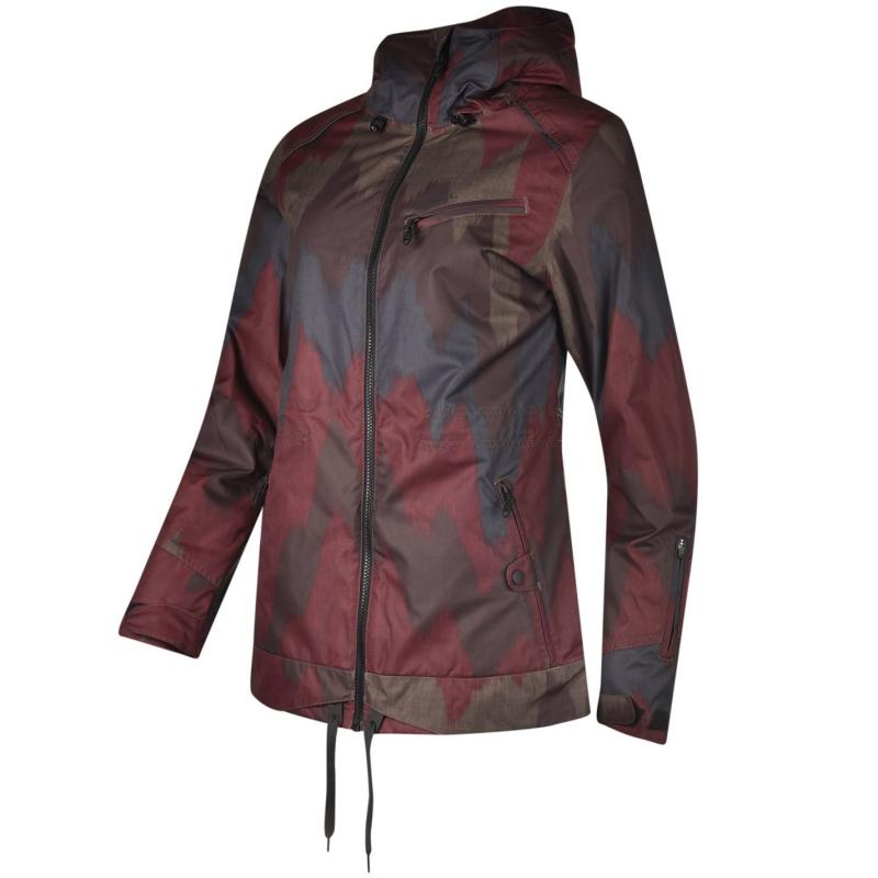 Bunda ONeill Sketch Ski Jacket Ladies Red, Velikost: 10 (S)