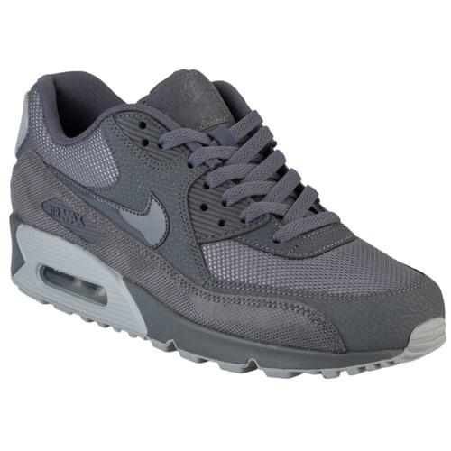 Boty Nike Womens Air Max 90 Prem Trainers Grey