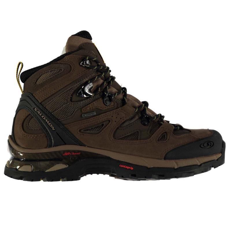 Boty Salomon Comet 3D GTX Mens Walking Boots Asphalt/Black