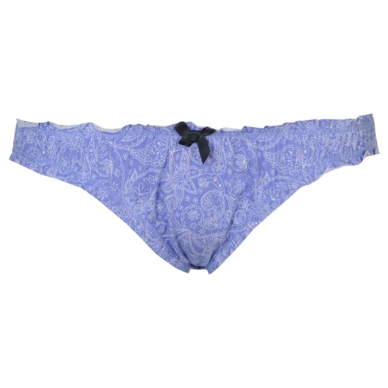 Plavky SoulCal Frill Bikini Bottoms Ladies Multi