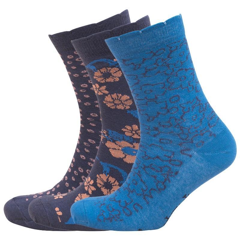 Ponožky Lovestruck Womens Three Pack Socks Navy/Blue/Pink