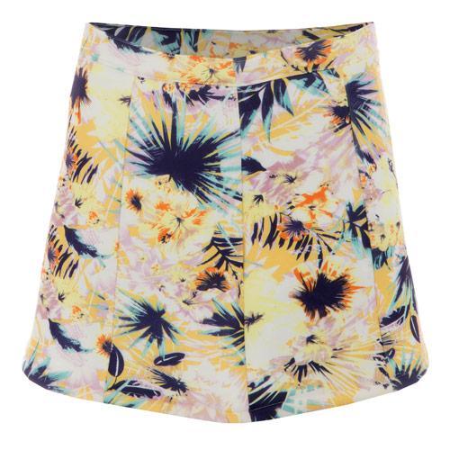 Sukně Glamorous Womens Hawaiian Skirt Floral