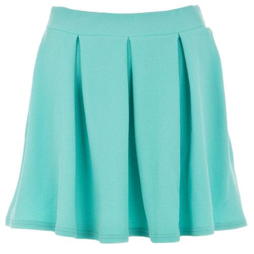 Sukně Glamorous Womens Pleat Skirt aqua