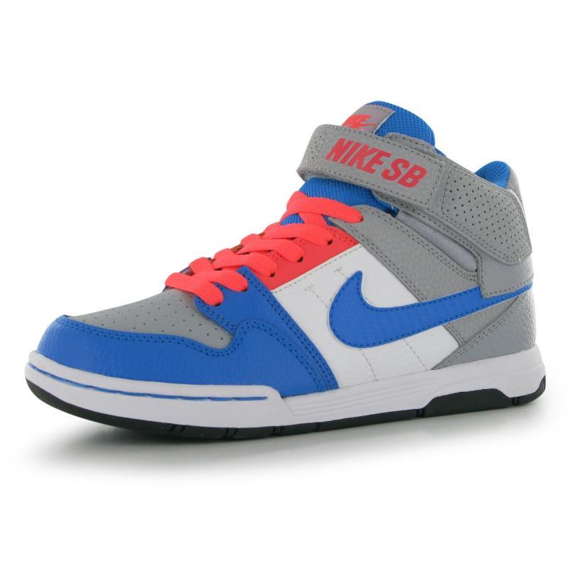 Nike Mogan Mid 2 Junior Grey/Blue/Wht