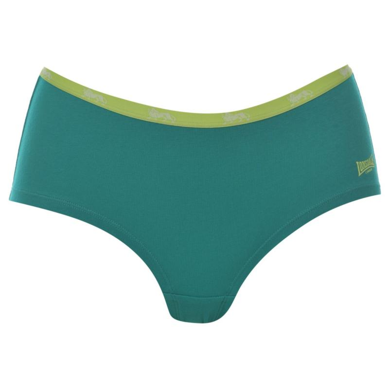 Spodní prádlo Lonsdale Single Short Ladies Teal/Orng Blob