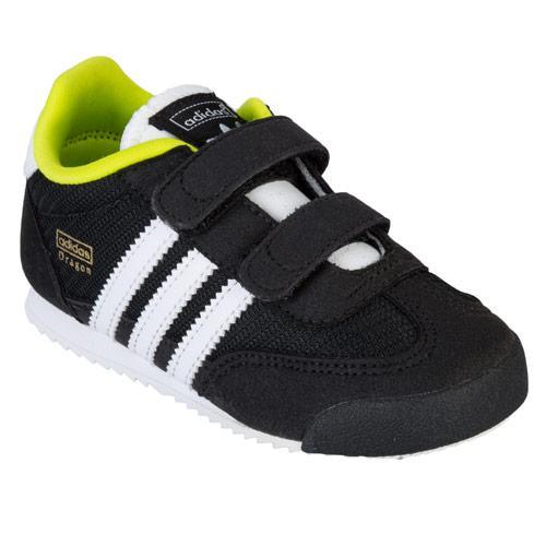 Boty Adidas Originals Infant Boys Dragon CF Trainers Black