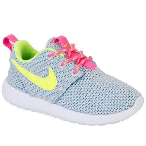 Nike Infant Girls Roshe Run Trainers Grey