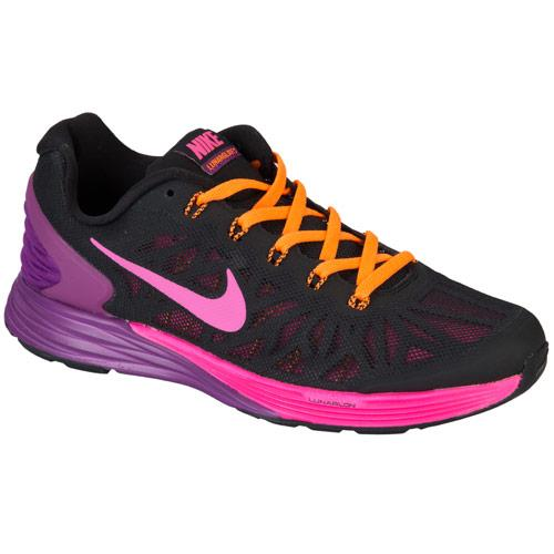 Nike Junior Girls Lunarglide 6 Trainers Black