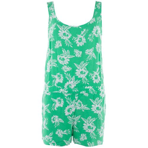 Vero Moda Womens Easy SL Playsuit Green
