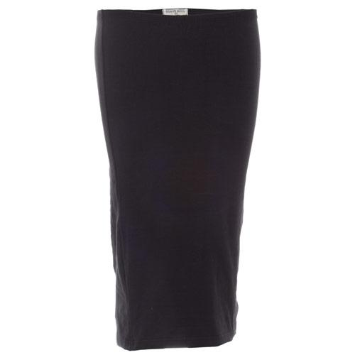 Sukně Brave Soul Womens Jersey Pencil Skirt Black