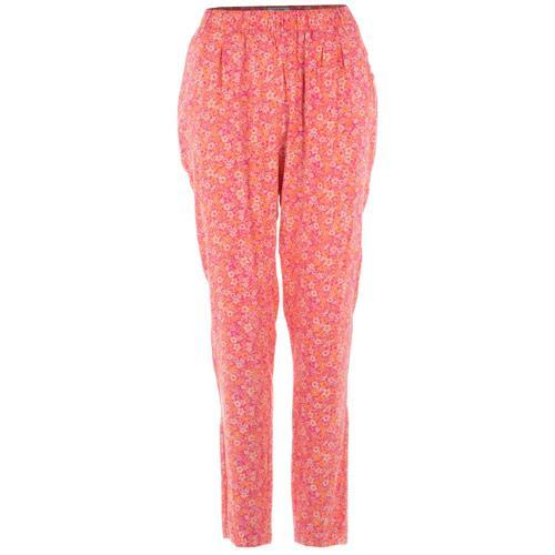 Kalhoty Vero Moda Womens Easy NW Loose Pants Pink