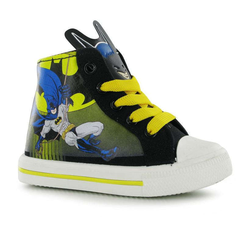 Boty Character Canvas Hi Top Infant Trainers Batman, Velikost: C13 (euro 31,5)