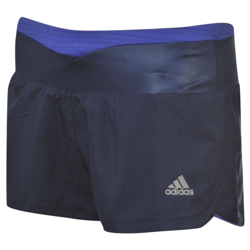 Šortky adidas Supernova Glide Shorts Ladies Night Sky/Orang