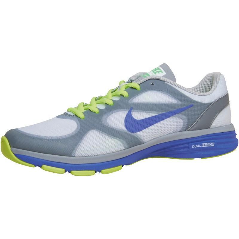 Boty Nike Womens Dual Fusion TR Training Shoes Grey/Volt