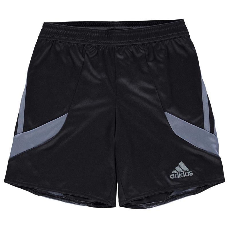 Kraťasy adidas 3 Stripe Nova Shorts Junior Boys Solar Orange