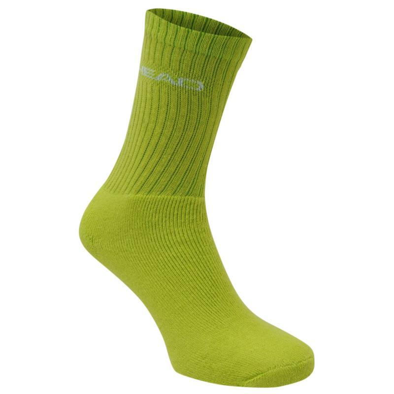 Ponožky HEAD Crew 3 Pack Sports Socks Mens Blue