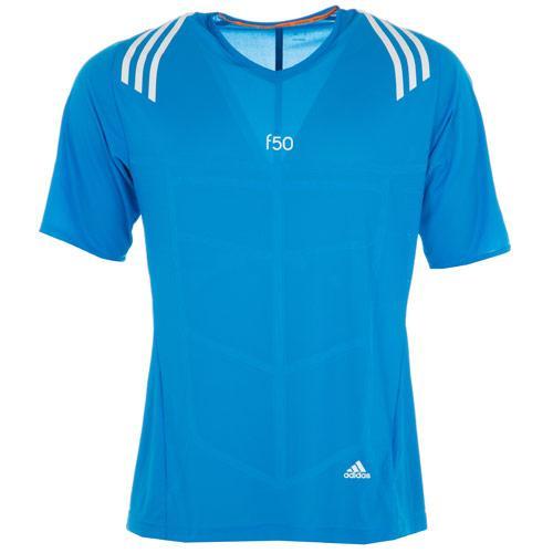 Tričko Adidas Mens Adizero F50 T-Shirt Blue