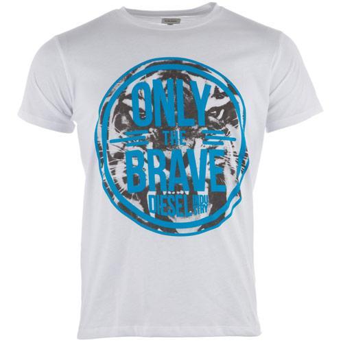Tričko Diesel Mens T-John T-Shirt White