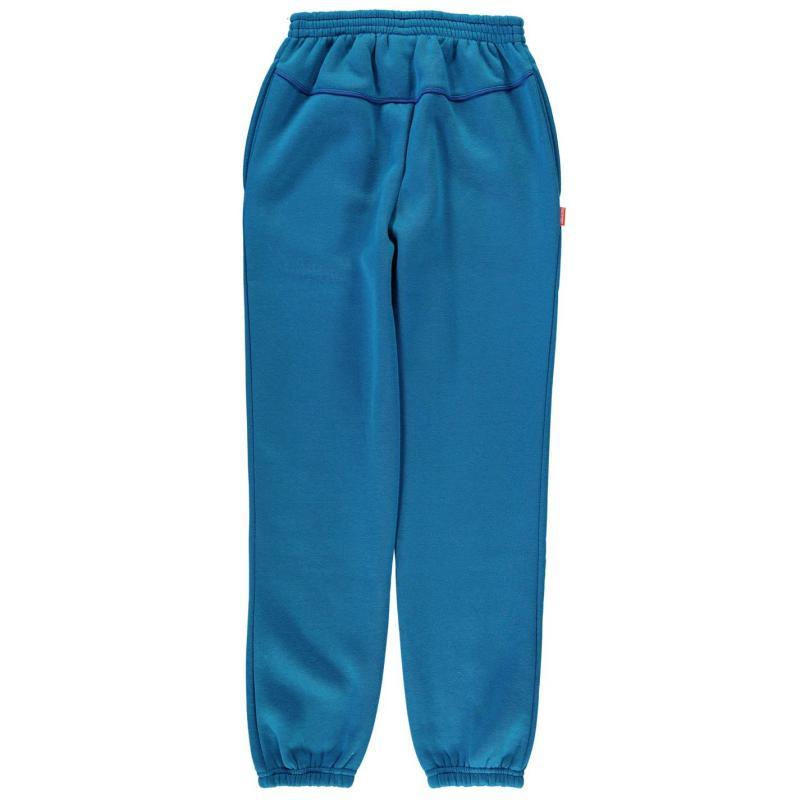 Tepláky Slazenger Fleece Pant Junior Charcoal Marl