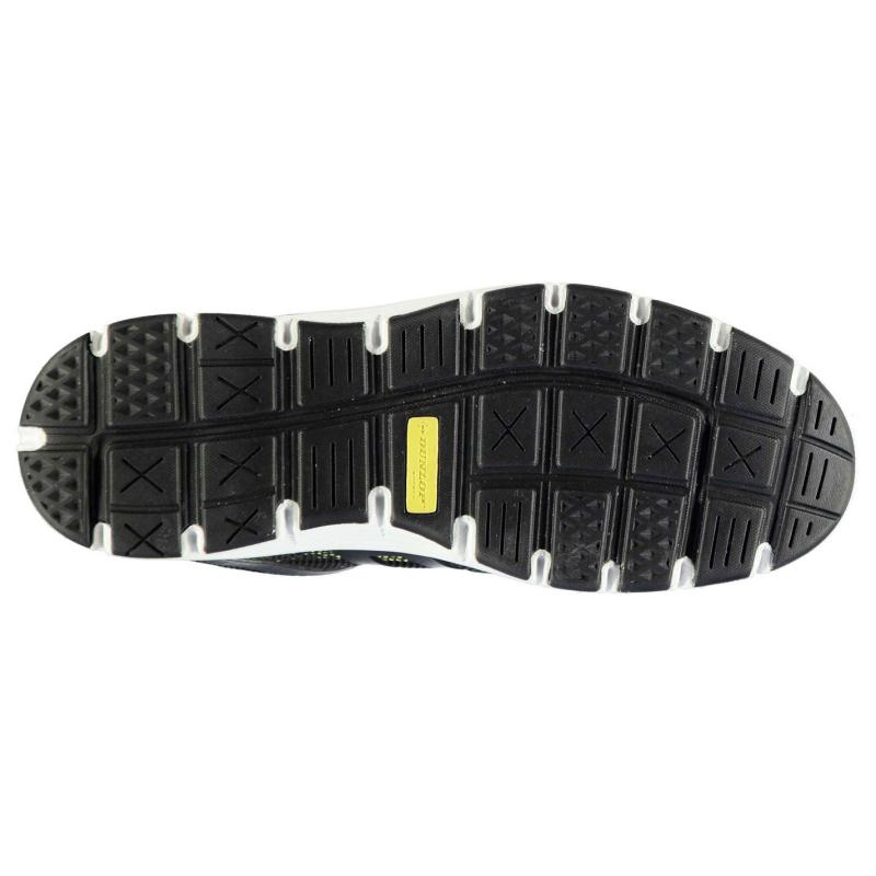 Boty Dunlop Maine Mens Safety Shoes Black, Velikost: 12 (M)