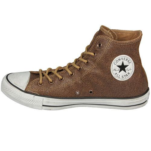 Converse Womens CT Hi Leather Trainers Tan