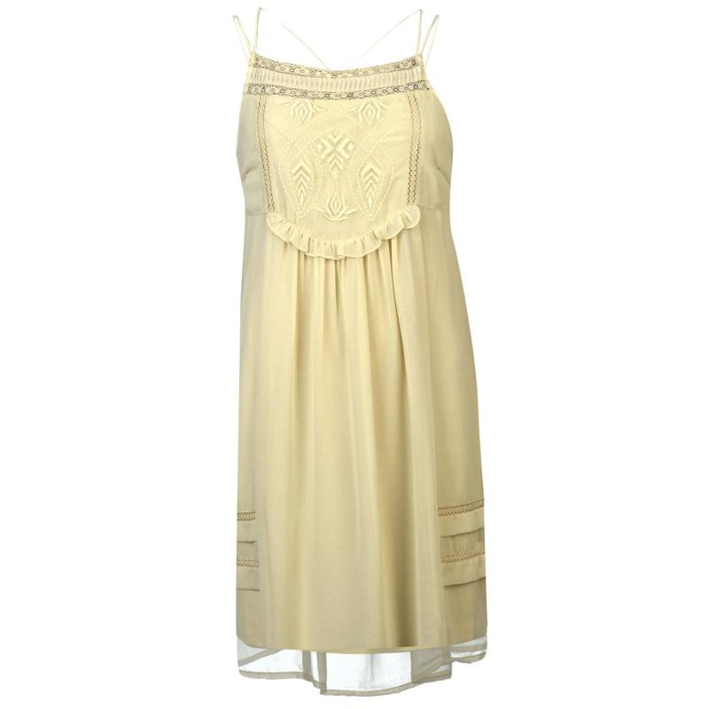 Šaty Vero Moda Mandi Dress Oatmeal